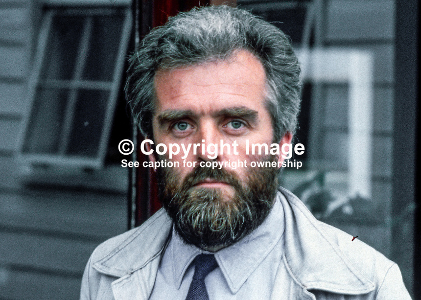 Rev Brian Smeaton, minister, Church of Ireland, reconciliation work, West Belfast, N Ireland, 83/79, 197908000083..Copyright Image from Victor Patterson, 54 Dorchester Park, Belfast, UK, BT9 6RJ..Tel: +44 28 9066 1296.Mob: +44 7802 353836.Voicemail +44 20 8816 7153.Skype: victorpattersonbelfast.Email: victorpatterson@me.com.Email: victorpatterson@ireland.com (back-up)..IMPORTANT: If you wish to use this image or any other of my images please go to www.victorpatterson.com and click on the Terms & Conditions. Then contact me by email or phone with the reference number(s) of the image(s) concerned.
