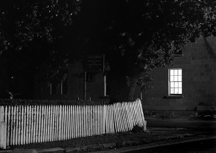 Fence at Night<br />