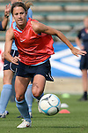 25 April 2008: Kacey White. The United States Women's National Team held a training session in WakeMed Stadium, formerly SAS Stadium, in Cary, NC.
