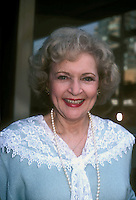 Betty White 1987 NYC By Jonathan Green<br /> Celebrity Photography USA