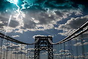 May 17, 2010. New York, NY.. The George Washington Bridge.