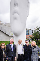 Echo Ribbon Cutting - Olympic Sculpture Park