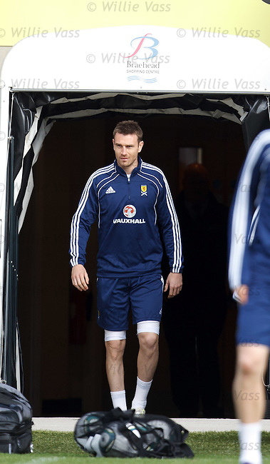 Stephen McManus emerges from the shadows