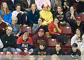 Members of the Boston College Eagles women's hockey team attended the game. - The Boston College Eagles defeated the visiting Merrimack College Warriors 3-2 on Friday, October 29, 2010, at Conte Forum in Chestnut Hill, Massachusetts.