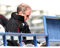 Kevin Payne CEO of D.C. United during a training session in Hapgood Stadium on the campus of the Citadel,on March 11 2011, in Charleston, South Carolina