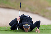 LOCH LOMOND SCOTLAND. 10-07-2010. Camilo Villegas (COL)  in action during the 3rd day of the PGA European Tour, Barclays Scottish Open part of The Race to Dubai Tournament.  Mandatory credit: Mitchell Gunn