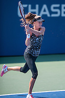 NEW YORK, NY – AUGUST 25: Daniela Hantuchova (SVK) during a practice session during the  day session of the first round of the 2014 US Open.
