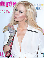 HOLLYWOOD, LOS ANGELES, CA, USA - SEPTEMBER 19: Jenna Jameson arrives at Perez Hilton's 10th Anniversary Party held at the Hollywood Athletic Club on September 19, 2014 in Hollywood, Los Angeles, California, United States. (Photo by Xavier Collin/Celebrity Monitor)