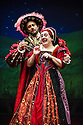 Redhill, UK. 01.02.2013. Birmingham Stage Company presents Horrible Histories - Terrible Tudors. Picture shows: Christopher Gunter and Tessa Vale. Photo credit: Jane Hobson.