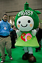 "DECEMBER 10, 2009 - TOKYO - JAPAN: ""Do You Kyoto ?"" mascot poses for posees or the photograph during the Eco-Product 2009 in Tokyo Big Sight. Some 700 exhibitors introduce their consumer goods, industrial materials, energies, finance and various services during three days. New environmental technologies and services that aim to change conventional wisdom, and new business models that aim to solve specific problems, including company coalitions and regional cooperation are displaying. In addition, 20,000 students in the Kanto Region as a school activity, and families can experience the low-carbon lifestyle of the near-future. 180,000 visitors are expected to attend (photo by Laurent Benchana/Nippon News)."