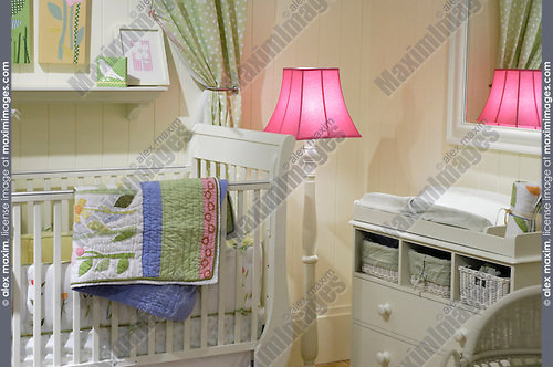 Nice children bedroom furniture in pastel shades Child room interior