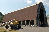 CT-DOT Orange Salt Shed Project 039-097 | Construction Progress Photographs for CRCI