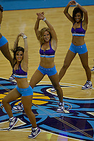 Oct 17, 2009; New Orleans, LA, USA; New Orleans Hornets Honeybees dancers perform during a break in the action of a game against the Indiana Pacers at the New Orleans Arena. The Hornets defeated the Pacers 108-96. Mandatory Credit: Derick E. Hingle-US PRESSWIRE