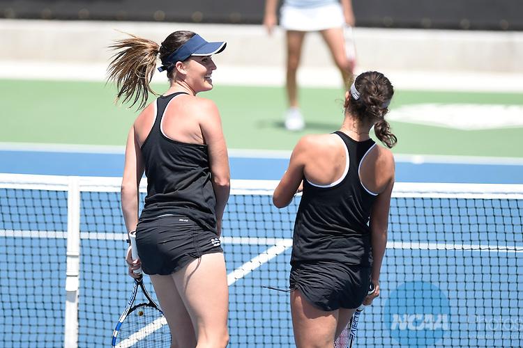 22 APR 2015: The 2015 Mountain West Women's Tennis Championship takes place at the McKinnon Family Tennis Stadium in Albuquerque, NM. Justin Tafoya/NCAA Photos