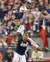New England Revolution vs Portland Timbers, August 16, 2014