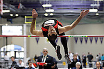 11 MAR 2011: Justin Gewirtz of Albright College high jumps during the the Division III Men's and Women's Indoor Track and Field Championships held at the Capital Center Fieldhouse on the Capital University campus in Columbus, OH.  Jay LaPrete/NCAA Photos