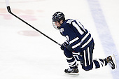 Dalton Speelman (UNH - 10) - The Boston College Eagles defeated the visiting University of New Hampshire Wildcats 5-2 on Friday, January 11, 2013, at Kelley Rink in Conte Forum in Chestnut Hill, Massachusetts.