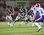 Ole Miss' Matt Hall (75) vs. Louisiana Tech in Oxford, Miss. on Saturday, November 12, 2011.
