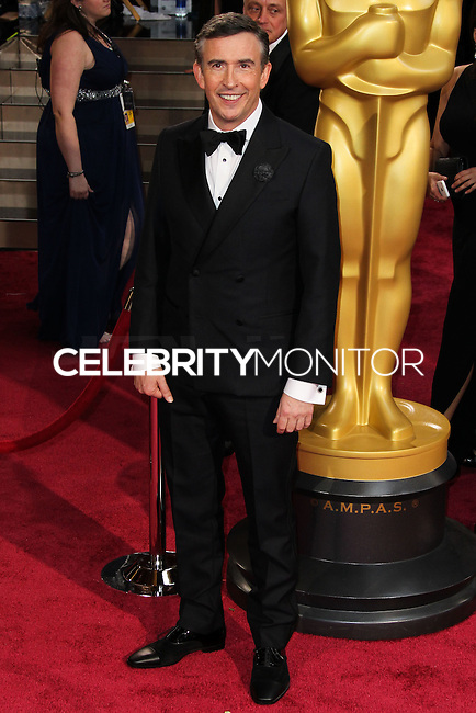 HOLLYWOOD, CA, USA - MARCH 02: Steve Coogan at the 86th Annual Academy Awards held at Dolby Theatre on March 2, 2014 in Hollywood, Los Angeles, California, United States. (Photo by Xavier Collin/Celebrity Monitor)