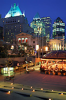 Robson Square,.Downtown Vancouver,.British Columbia, Canada