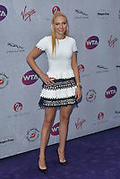 Donna Vekic at WTA pre-Wimbledon Party at The Roof Gardens, Kensington on june 23rd 2016 in London, England.<br /> CAP/PL<br /> &copy;Phil Loftus/Capital Pictures /MediaPunch ***NORTH AND SOUTH AMERICAS ONLY***