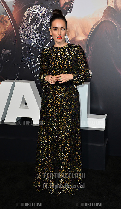 Ana de la Reguera at the premiere for &quot;The Great Wall&quot; at the TCL Chinese Theatre, Hollywood, Los Angeles, USA 15 February  2017<br /> Picture: Paul Smith/Featureflash/SilverHub 0208 004 5359 sales@silverhubmedia.com