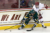 Sebastian Stålberg (Vermont - 8), Patrick Wey (BC - 6) - The Boston College Eagles defeated the visiting University of Vermont Catamounts 6-0 on Sunday, November 28, 2010, at Conte Forum in Chestnut Hill, Massachusetts.