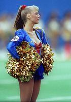 World Bowl Cheerleaders 1992. Photo F. Scott Grant