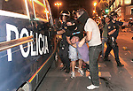 Riots against visit Pope to Madrid