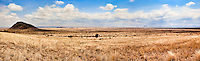 Panoramic view of wide open plains stretching as far as the eye can see in Kenya, Africa (photo by Wildlife Photographer Matt Considine)