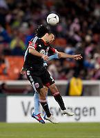 Hamdi Salihi.  Sporting KC defeated D.C. United, 1-0, at RFK Stadium in Washington, DC.