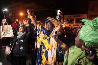 Harlem, USA Celebrates the Re-Election of President Barack Obama