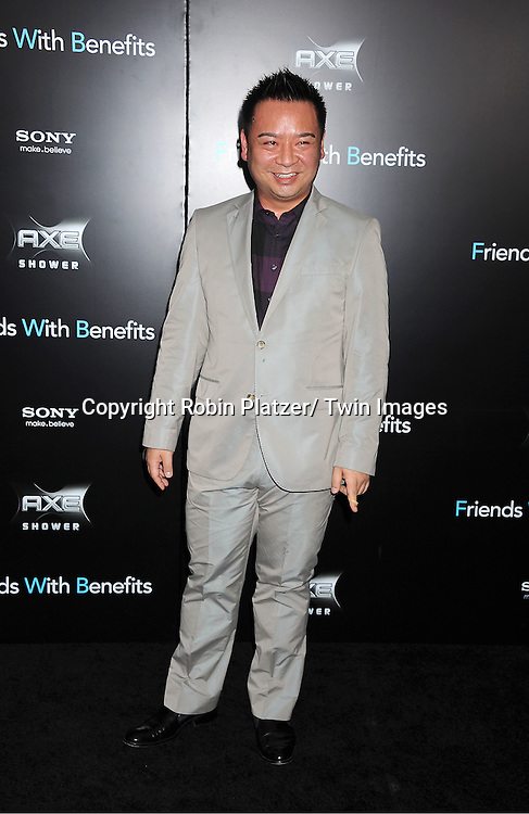 "Rex Lee attending the New York Premiere of ""Freinds With Benefits"" on July 18, 2011 at The Ziegfeld Theatre in New York City. The movie stars Justin Timberlake, Mila Kunis, Emma Stone, Patricia Clarkson, Jenna Elfman and Bryan Greenberg."