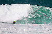 Margaret River, Western Australia.  (Thursday, April 7, 2011). Pat Gudauskas (USA).  The Six Star Prime Telstra Drug Aware Pro continued  with the last four heats of the Round of 96 before going straight into the Round of 48 today. The surf was in the 10' -12' range with onshore winds making for difficult conditions for all the surfers. The contest is the biggest surfing event ever held in Western Australia with 26 out of the Top 32 ranked surfers in the world competing. - Photo: joliphotos.com