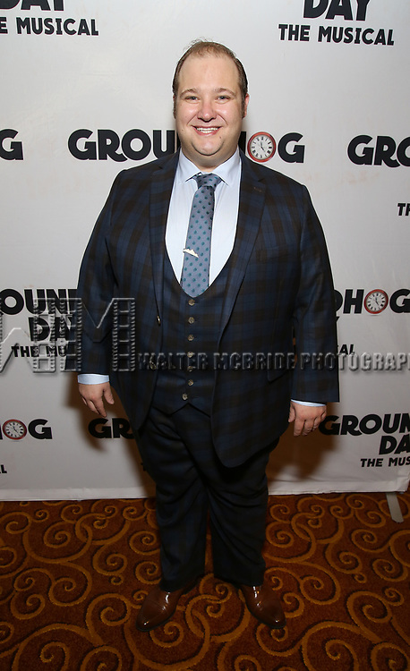 Josh Lamon attends the Broadway Opening Night After Party for 'Groundhog Day' at Gotham Hall on April 17, 2017 in New York City.