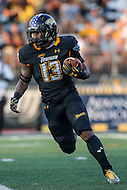 Towson, MD - September 9, 2016: Towson Tigers running back Shane Simpson during game between Towson and St. Francis at  Minnegan Field at Johnny Unitas Stadium  in Towson, MD. September 9, 2016.  (Photo by Elliott Brown/Media Images International)
