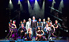 THE ILLUSIONISTS - WITNESS THE IMPOSSIBLE<br /> Conceived by Simon Painter at the Shaftesbury Theatre, London, Great Britain <br /> Press photocall <br /> 13th November 2015 <br /> <br /> Cast and dancers <br /> <br /> <br /> <br /> <br /> Photograph by Elliott Franks <br /> Image licensed to Elliott Franks Photography Services