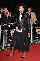 LONDON, ENGLAND. October 6, 2016: Janelle Monae at the London Film Festival premiere for &quot;Moonlight&quot; at the Embankment Gardens Cinema, London.<br /> Picture: Steve Vas/Featureflash/SilverHub 0208 004 5359/ 07711 972644 Editors@silverhubmedia.com