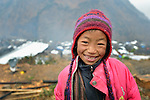 Devimaya Tamang, a 7-year old girl, lives in Gatlang, in the Rasuwa District of Nepal. <br /> <br /> Parental consent obtained.