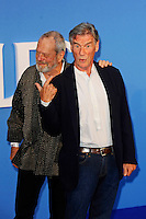 LONDON, ENGLAND - SEPTEMBER 15: Terry Gilliam and Michael Palin attending the 'The Beatles: Eight Days A Week - The Touring Years'  World Premiere at Odeon Cinema, Leicester Square on September 15, 2016 in London, England.<br /> CAP/MAR<br /> &copy;MAR/Capital Pictures /MediaPunch ***NORTH AND SOUTH AMERICAS ONLY***