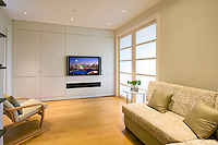 TV Built In Cabinet With Sound Bar