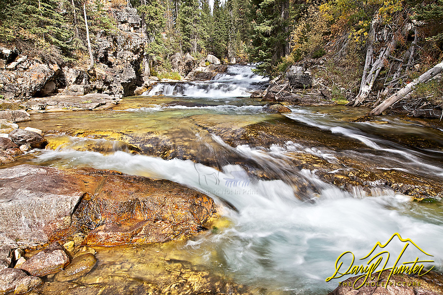 Granite Creek Cascade, Bondurant, Wyoming,