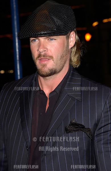 Actor MATT SCHULZE at the Los Angeles premiere of his new movie The Transporter..02OCT2002. © Paul Smith / Featureflash
