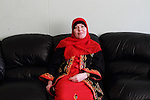 Arhus, Denmark, April, 2010. Iman, dasnih, converted to Islam in 1999.