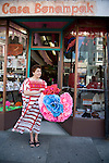 Casa Bonampak, a boutique in the heart of the Mission's Latin district, specializes in Fair Trade items and socially responsible gift items.