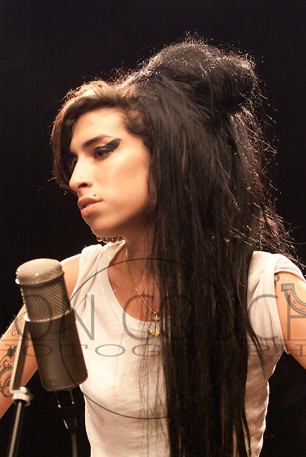Amy Winehouse in Austin, Texas for SXSW.
