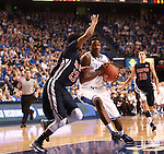 UK guard Archie Goodwin tries to shoot the ball during the first half of the men's basketball game vs. Samford at Rupp Arena in Lexington, Ky., on Tuesday, December 4, 2012. Photo by Emily Wuetcher | Staff..