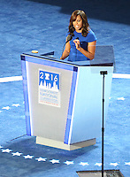 PHILADELPHIA, PA - JULY 25: Michelle Obama at the 2016 Democratic National Convention at The Wells Fargo Center in Philadelphia, Pennsylvania on July 25, 2016. Credit: Star Shooter/MediaPunch