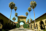 California: Stanford: Stanford University campus,  Photo: castan104.Photo copyright Lee Foster, 510/549-2202, lee@fostertravel.com, www.fostertravel.com