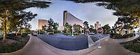 The Wynn casino, the Las Vegas Strip, December  2015.  (photo by Brian Cleary/www.bcpix.com)